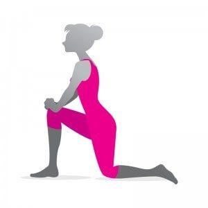 ergonomi øvelse bøjemuskel i hoften